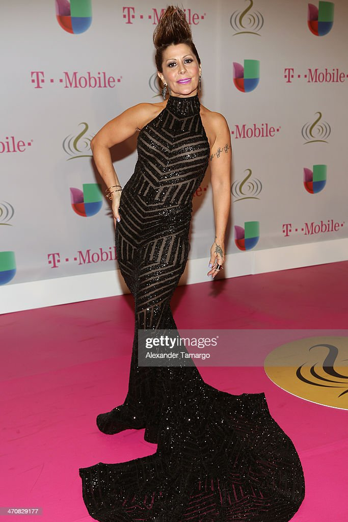 <a gi-track='captionPersonalityLinkClicked' href=/galleries/search?phrase=Alejandra+Guzman&family=editorial&specificpeople=217794 ng-click='$event.stopPropagation()'>Alejandra Guzman</a> attends Premio Lo Nuestro a la Musica Latina 2014 at American Airlines Arena on February 20, 2014 in Miami, Florida.