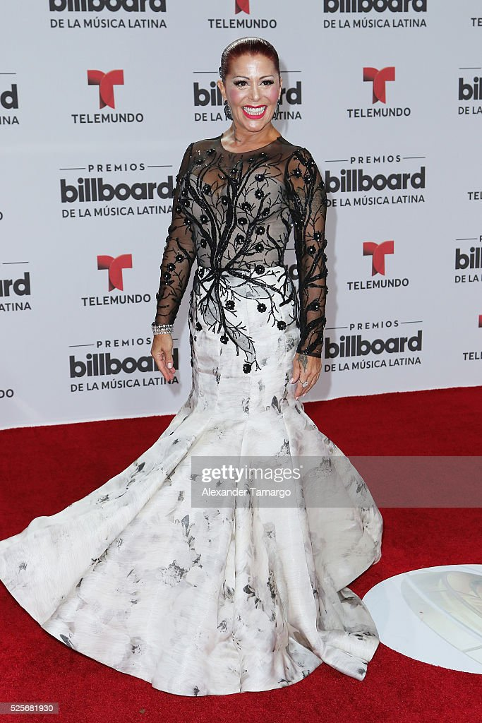 Alejandra Guzman attends the Billboard Latin Music Awards at Bank United Center on April 28, 2016 in Miami, Florida.