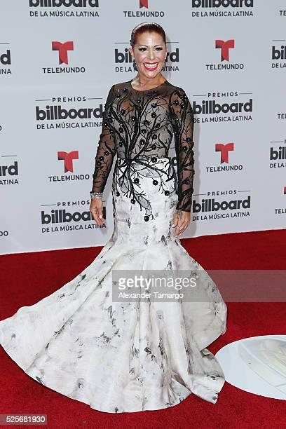 Alejandra Guzman attends the Billboard Latin Music Awards at Bank United Center on April 28 2016 in Miami Florida