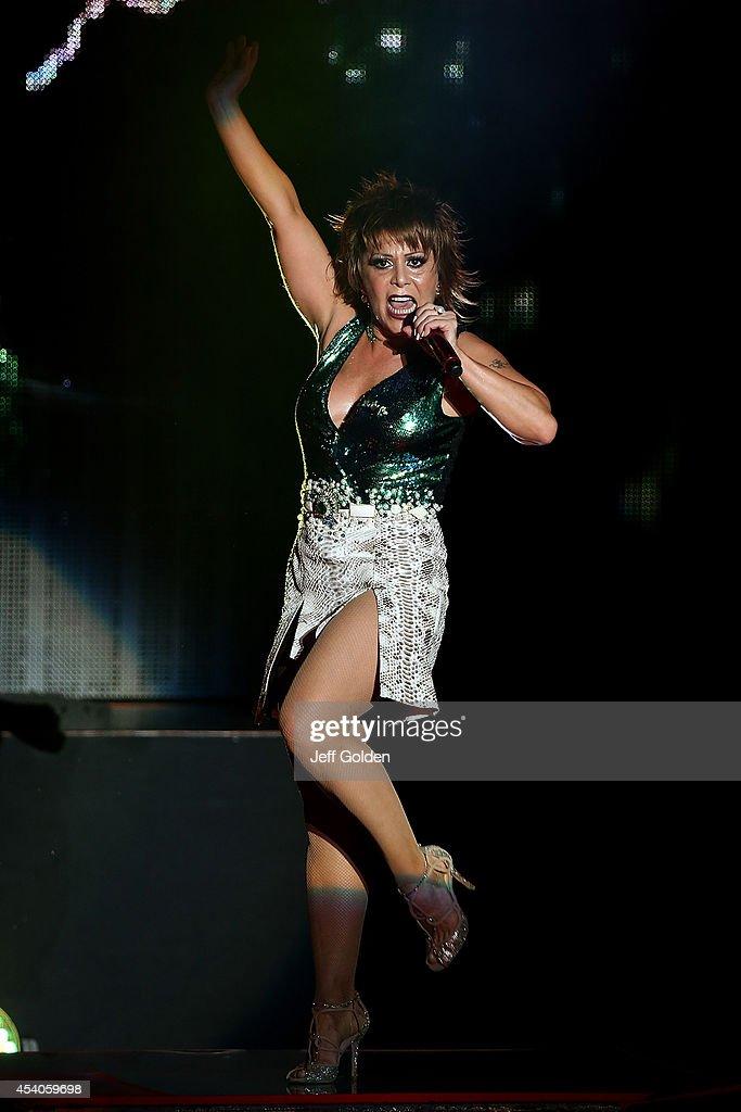 Alejandra Guzman Performs At The Greek Theatre On August
