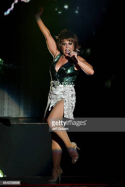 Alejandra Guzman performs at The Greek Theatre on August 23 2014 in Los Angeles California