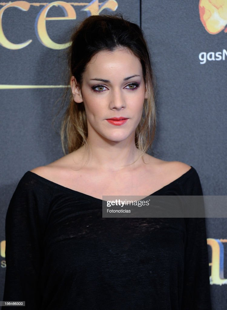 Alejandra Onieva attends the premiere of 'The Twilight Saga: Breaking Dawn - Part 2' (La Saga Crepusculo: Amanecer- Parte 2) at kinepolis Cinema on November 15, 2012 in Madrid, Spain.