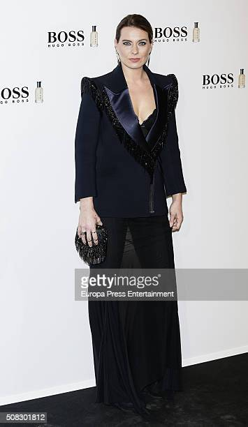Alejandra Osborne attends 'Man Of Today' campaign at Eurobuilding hotel on February 3 2016 in Madrid Spain