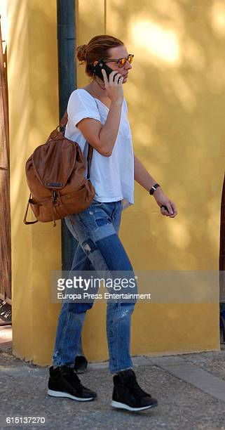 Alejandra Osborne attends the 55th Show Jumping Championship at Pineda Royal Club on October 16 2016 in Seville Spain