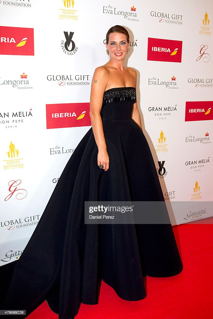 Alejandra Osborne attends the Global Gift Gala 2015 red carpet at Gran Melia Don pepe Resort on July 5, 2015 in Marbella, Spain.