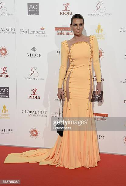 Alejandra Osborne attends the Global Gift Gala at the Palacio de Cibeles on April 2 2016 in Madrid Spain