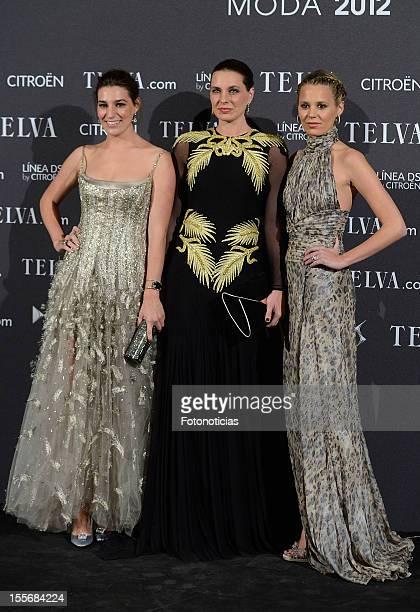 Alejandra Osborne Eugenia Osborne and Claudia Osborne attend Telva Fashion Awards 2012 at the Palace Hotel on November 6 2012 in Madrid Spain