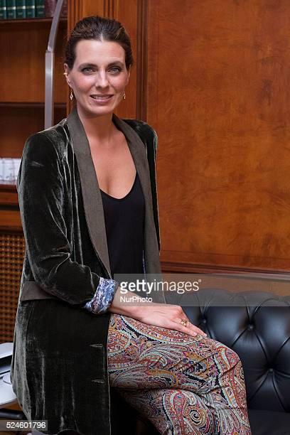 Alejandra Osborne new ambassador Beauty Clinic in Madrid on October 29 2015