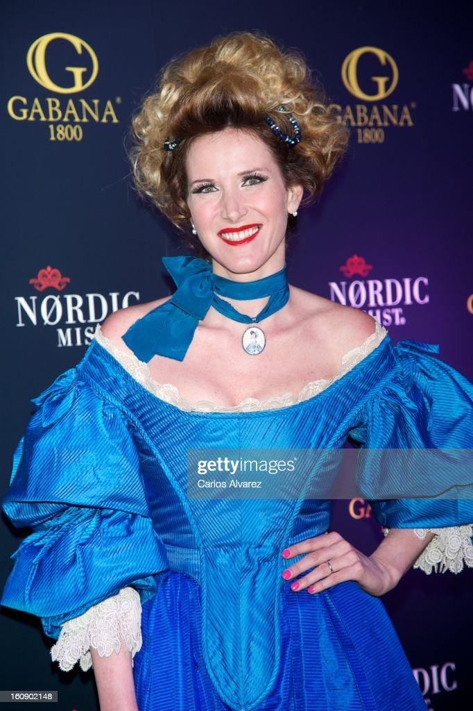 Alejandra Prat attends 'Carnaval 2013' party at Gabana Club on February 7, 2013 in Madrid, Spain.