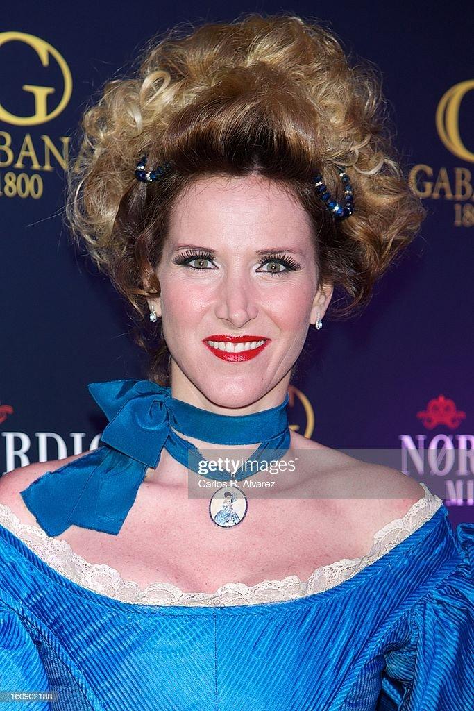 Alejandra Prat attends 'Carnaval 2013' party at Gabana Club on February 7, 2013 in Madrid, Spain.