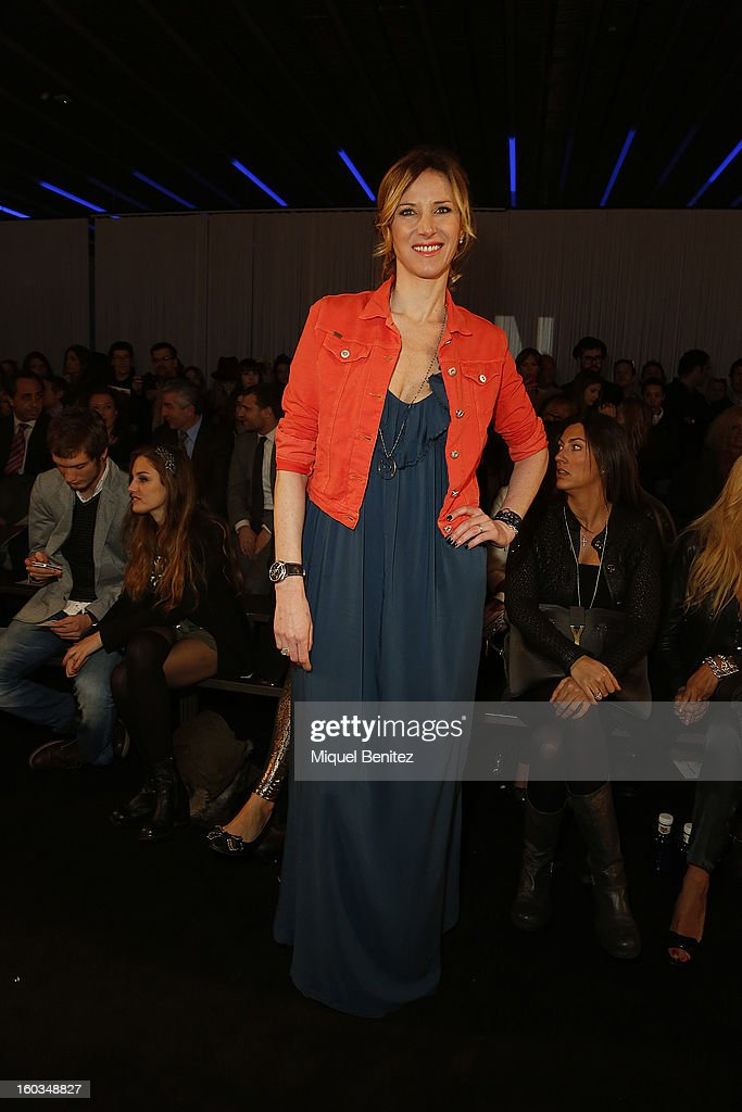 Alejandra Prat attends the TCN fashion show as part of the 080 Barcelona Fashion Week Autumn/Winter 2013-2014 on January 29, 2013 in Barcelona, Spain.