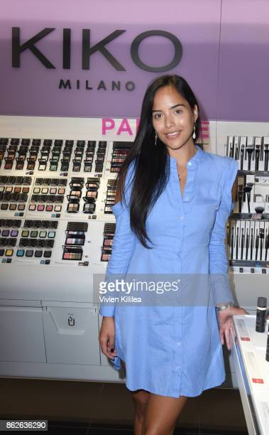 Alejandra Rodriguez attends Louise Roe For Kiko Milano At Kiko Milano Hollywood Venue on October 14 2017 in Hollywood California