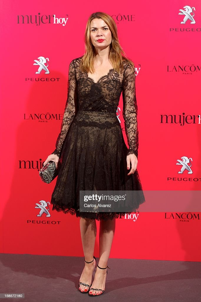 Alejandra Rojas attends Mujer Hoy awards 2012 at ABC Museum on December 19, 2012 in Madrid, Spain.