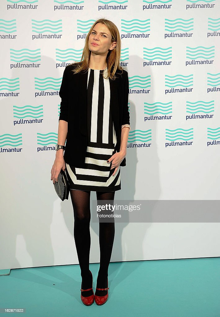 Alejandra Rojas attends the Blue Night by Pullmantur at Neptuno Palace on February 28, 2013 in Madrid, Spain.