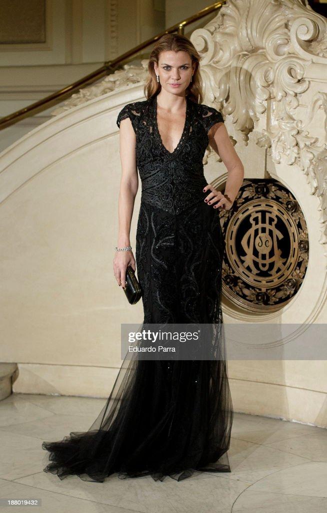 Alejandra Rojas attends the Ralph Lauren Dinner Charity Gala at the Casino de Madrid on November 14, 2013 in Madrid, Spain.