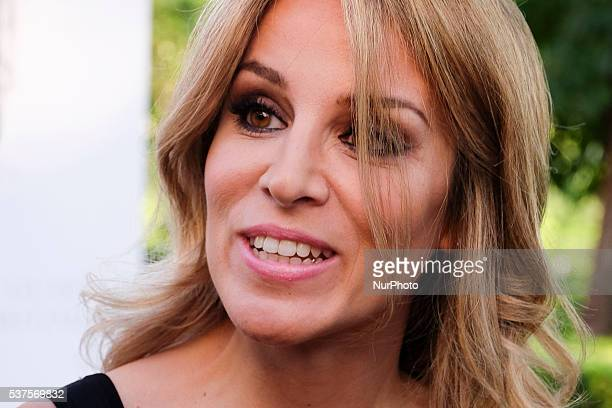 Alejandra Silva attends the party Stuart Weitzman at the US Embassy in Madrid Spain on first June 2016