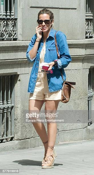 Alejandra Silva is seen on July 19 2016 in Madrid Spain