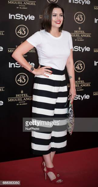 Alejandra Torrebejano attends El Jardin del Miguel Angel party photocall at Miguel Angel hotel on May 24 2017 in Madrid Spain