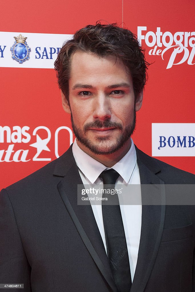 Alejandro Albarracin attends the 'Fotogramas Awards' 2013 at Joy Slava on February 24, 2014 in Madrid, Spain.