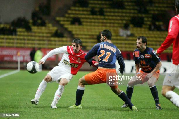 Alejandro ALONSO Monaco / Montpellier 15e journee Ligue 1 Stade Louis II