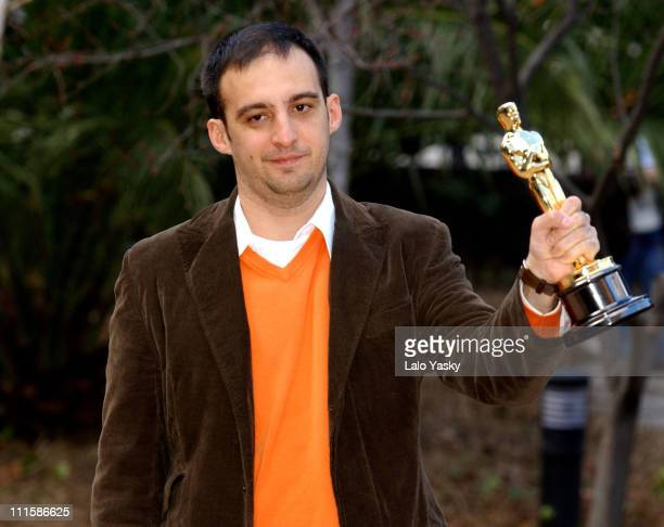 Alejandro Amenabar director and winner Best Foreign Film for 'The Sea Inside'