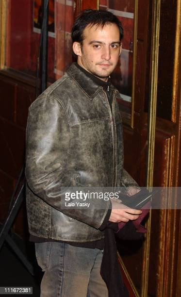Alejandro Amenabar during 'The Last Samurai' Madrid Premiere Inside Arrivals January 08 2004 at Palacio de la Musica Cinema in Madrid Spain
