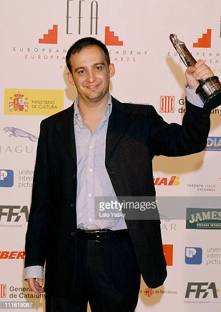 Alejandro Amenabar EFA Award as Best Director for 'The Sea Inside'