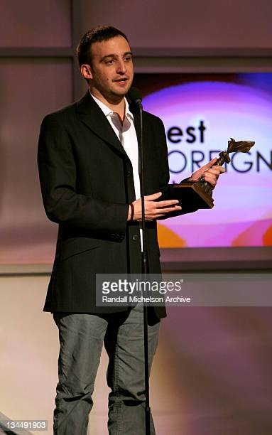 "Alejandro Amenabar winner Best Foreign Film for ""The Sea Inside"""