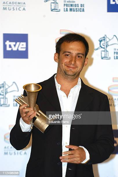 Alejandro Amenabar winner of an award for the score from 'Sea Inside'
