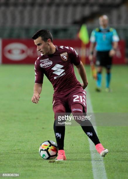 Alejandro Berenguer during Tim Cup 2017/2018 match between Torino v Trapani in Turin on August 11 2017 FC Torino win 71 the math