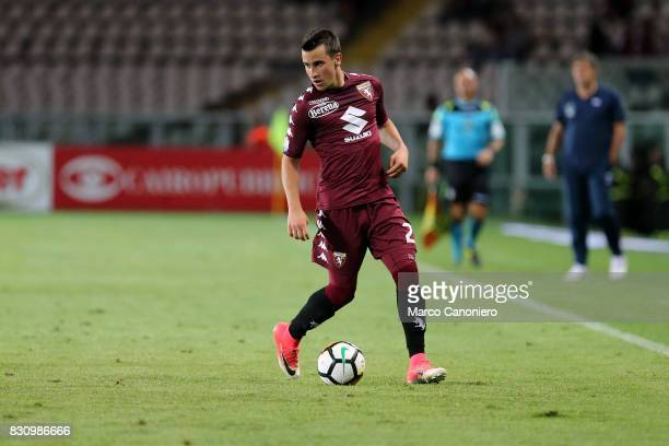 Alejandro Berenguer of Torino FC in action during the Italia Tim Cup match between Torino Fc and Trapani Calcio Torino Fc wins 71 over Trapani Calcio