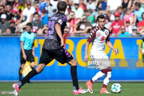 Alejandro Berenguer of Torino FC in action during the preseason friendly football match between SC Freiburg and Torino FC Torino FC wins 21 over SC...