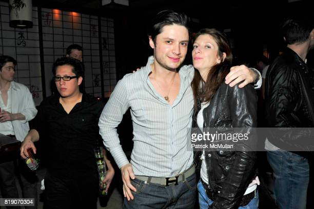 Alejandro Bipaz and Luisa attend NIGHT AT THE PARK Benefiting Hettrick Martin at The Park on March 18 2010 in New York City