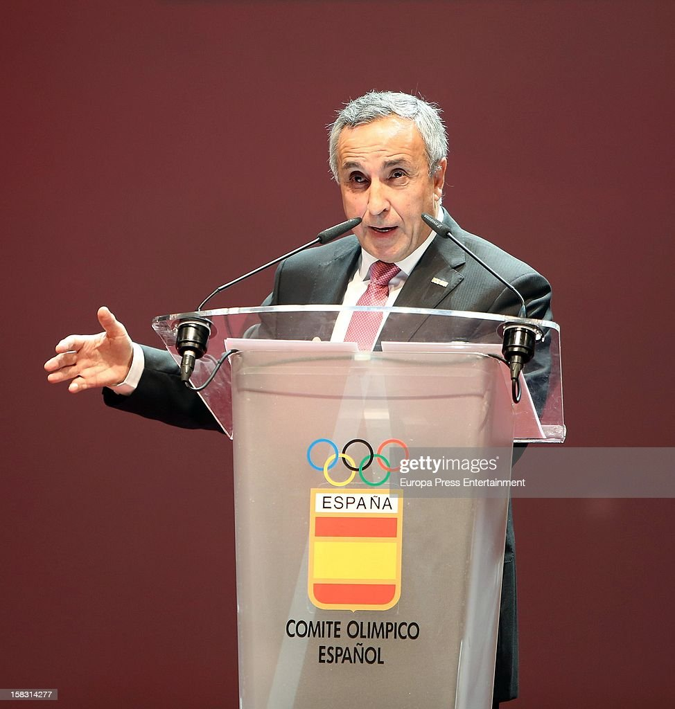 Alejandro Blanco attends Spanish Olympic Commitee Centenary Gala at El Canal Theatre on December 12, 2012 in Madrid, Spain.