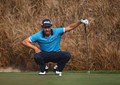 Alejandro Canizares of Spain during the second round of the 2015 True Thailand Classic at Black Mountain Golf Club on February 13 2015 in Hua Hin...