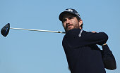 Alejandro Canizares of Spain in action during the first round of the Commercial Bank Qatar Masters at Doha Golf Club on January 21 2015 in Doha Qatar