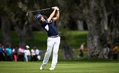 Alejandro Canizares of Spain plays a shot from the 7th fairway during day three of the Open de Espana at Real Club Valderrama on April 16 2016 in...