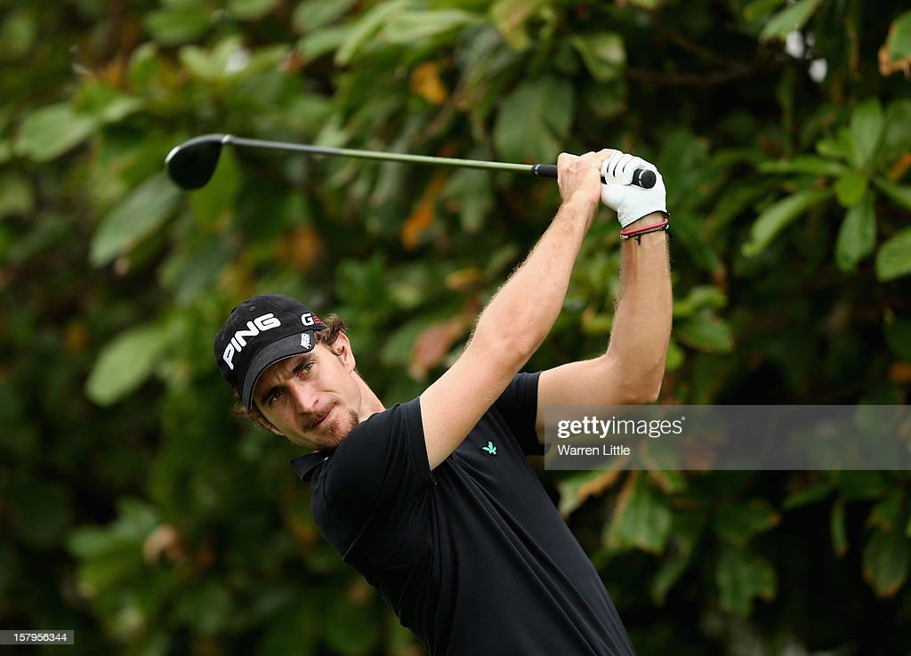 Alejandro Canizares of Spain tees off on the second hole during the first round of The Nelson Mandela Championship presented by ISPS Handa at Royal Durban Golf Club on December 8, 2012 in Durban, South Africa.