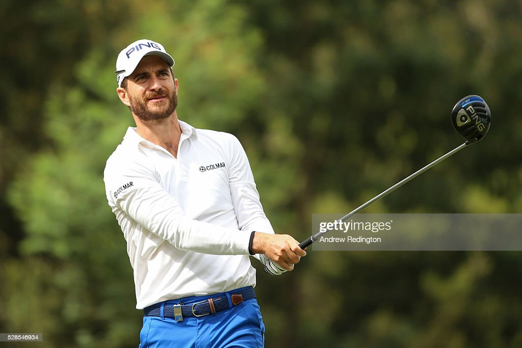 <a gi-track='captionPersonalityLinkClicked' href=/galleries/search?phrase=Alejandro+Canizares&family=editorial&specificpeople=756596 ng-click='$event.stopPropagation()'>Alejandro Canizares</a> of Spain watches his tee shot on the 16th hole during the second round of the Trophee Hassan II at Royal Golf Dar Es Salam on May 6, 2016 in Rabat, Morocco.
