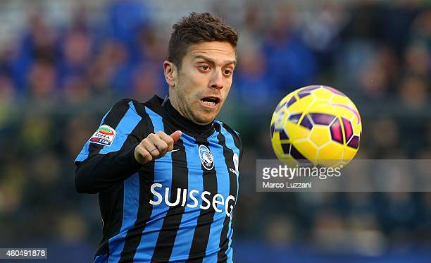 Alejandro Dario Gomez of Atalanta BC in action during the Serie A match between Atalanta BC and AC Cesena at Stadio Atleti Azzurri d'Italia on...