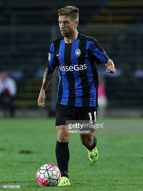 Alejandro Dario Gomez of Atalanta BC in action during the Serie A match between Atalanta BC and Frosinone Calcio at Stadio Atleti Azzurri d'Italia on...