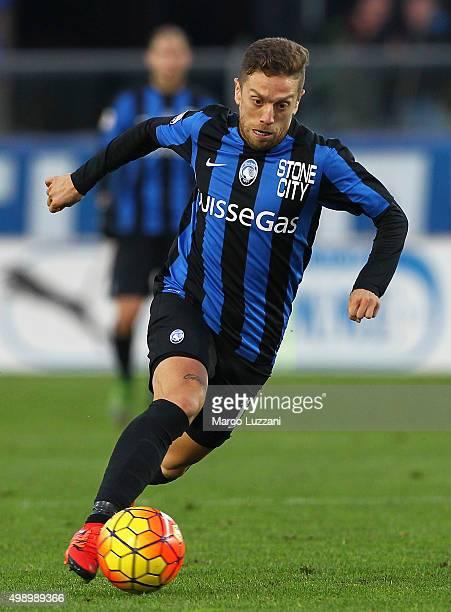 Alejandro Dario Gomez of Atalanta BC in action during the Serie A match between Atalanta BC and Torino FC at Stadio Atleti Azzurri d'Italia on...