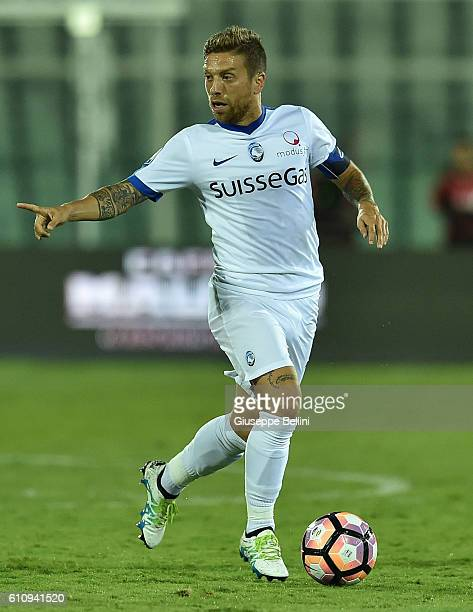 Alejandro Dario Gomez of Atalanta BC in action during the Serie A match between FC Crotone and Atalanta BC at Adriatico Stadium on September 26 2016...