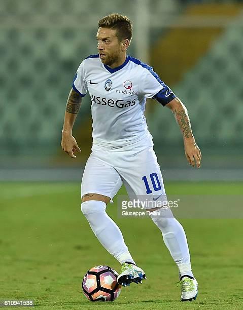 Alejandro Dario Gomez of Atalanta BC in action during the Serie A match between FC Crotone and Atalanta BC at Adriatico Stadium on September 26 2016...