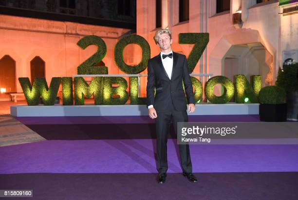 Alejandro Davidovich Fokina attends the Wimbledon Winners Dinner at The Guildhall on July 16 2017 in London England