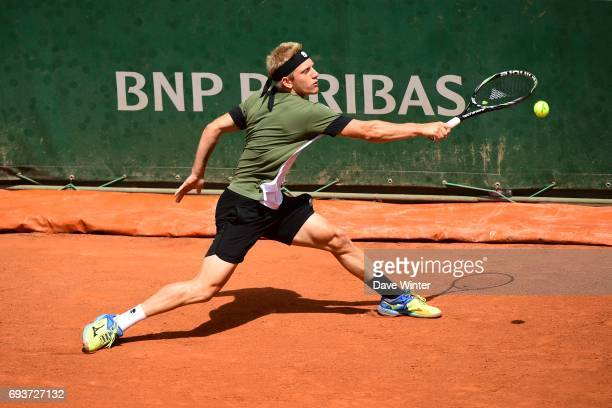 Alejandro Davidovich Fokina during day 12 of the French Open at Roland Garros on June 8 2017 in Paris France