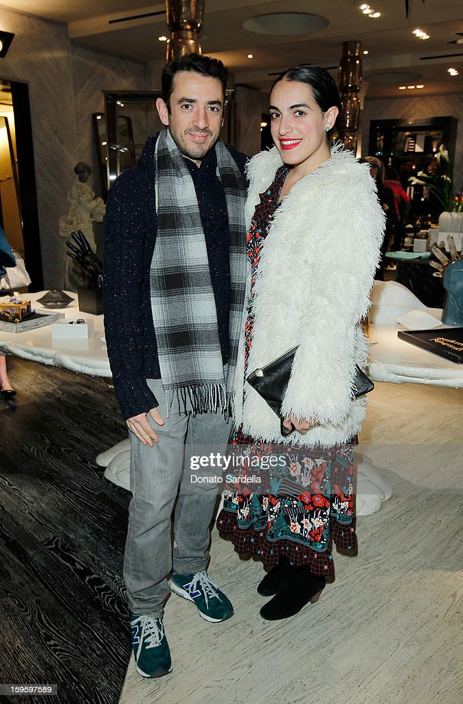 Alejandro De Cordoba and Heather Taylor attend Kelly Wearstler and LACMA's Avant-Garde celebrating her eponymous new book Kelly Wearstler: 'Rhapsody' at Kelly Wearstler Boutique on January 16, 2013 in West Hollywood, California.