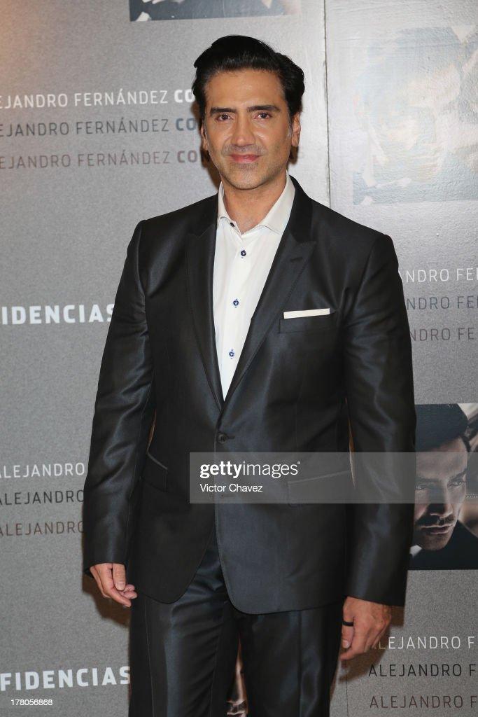Alejandro Fernandez Launches His New Album Confidencias