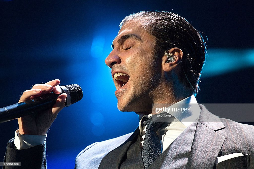 Alejandro Fernandez performs at the Festival People en Español Presented by Target at The Alamodome on August 31, 2013 in San Antonio, Texas.