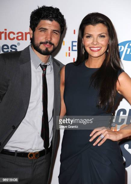 Alejandro Gomez Monteverde and actress Ali Landry arrive at the 17th Annual Race to Erase MS event cochaired by Nancy Davis and Tommy Hilfiger at the...